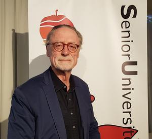Lennart Hagefors föreläste på Senioruniversitetet Hudiksvall.