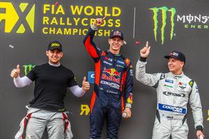 Fraser McConnell och Jesse Kallio ingår denna säsong i OMSE:s RX2-team, tillsammans med Oliver Eriksson. Foto: RX2