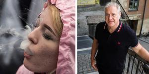 Fotot till vänster är en genrebild, personen på bilden har ingenting med artikeln att göra. Mannen till höger är Ulf Guttormsson, avdelningschef på CAN, som gett ut rapporten.