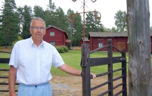 Börje Bergqvist har gjort ovärderliga insatser för Mockfjärd och inte minst för Gammelgården.