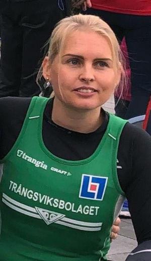 Anna Barkander tog hem damernas lopp över 10 000 meter.