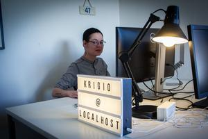 Razi Kantorp-Weglin har arbetat tio år inom techindustrin.