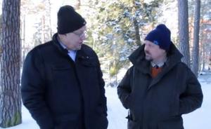 DT:s politiska redaktör Jens Runnberg intervjuade Ulf Berg (M) i samband med att Berg blev partiets förstanamn i landstinget i februari 2016. Foto: Claes Söderberg