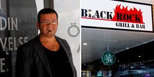 Ägaren Andreas Özel tvingas stänga Black Rock Grill, före detta Ante's, på Stora Gatan i Västerås. Bild: Nora Nergiz Westerbergh/William Holm