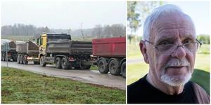 Valter Carlsson, som i höstas hoppade av sitt revisorsuppdrag i protest, ser avtalet om de tunga transporterna som en framgång.