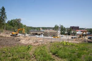 Bygget av den nya restaurangen pågår. I oktober eller november öppnar den.
