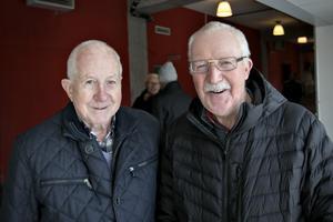 Sven-Olov Odenryd och Bengt Persson är bandyfantaster.