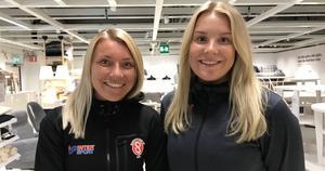 Simone Edefall, SIF och Gabrielle Wågström, Gefle IF – nu ska de mötas på Gavlevallen.