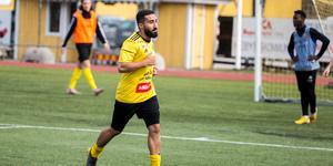 Balen Nouri var en av matchvinnarna med sina tre mål i matchen.