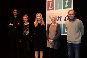 Årets författare på SmåLits författarscen var Jonas Hassen Khemiri, Sara Stridsberg, Ann Cleeves och Björn Larsson. Samtalen leddes av Jönköpings-Postens kulturredaktör Emilia Söelund