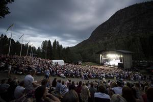 Lars Winnerbäck bidrog stort till publikrekordet på Skule naturscen, som var ett faktum innan den sista konserten spelades – då är besöksrekordet redan slaget jämfört med tidigare år.