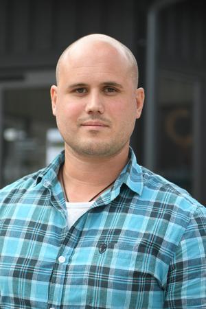 Daniel Fackel, miljöchef på Åre kommun. Foto: Rasmus Persson