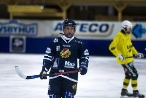 Axel Berglund gör sin fjärde hela säsong med A–laget.