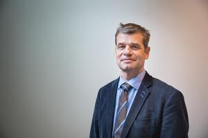 Pontus Werlinder, fastighetschef på Telge bostäder.