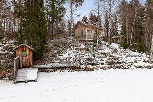 Detta hus i Gruvriset i Falu kommun fick 9 916 klick på Hemnet under förra veckan, vilket gav en solklar förstaplats på Dalarnas egen Klicktoppen. Foto: Patrik Persson