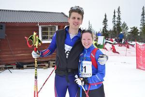 Karin och Anders Hermansson kom från Västerås för att delta i Pilgrimsloppet.
