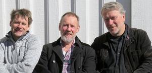 Per Gudmundson, Åke Wänn och Staffan Lindfors spelar i Gamla prästgården i Bingsjö den 17 maj klockan 19.