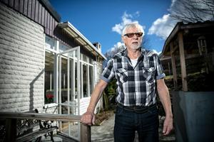 Paul-Rune Fritzon har hamnat i verbalt bråk med nazister på stan men säger sig inte vara rädd för dem.
