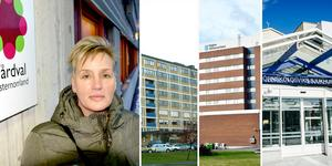 Den politiska majoriteten med bland annat Cathrin Eliasson (L), ledamot i Hälso- och sjukvårdsnämnden, backar och väntar med att ta beslut om besparingar för länets sjukhus vid dagens extrainsatta nämndsmöte.