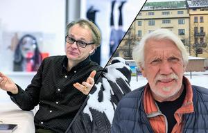 Lars Jonnson och Mats Nilsson grundade Open Art tillsammans. 2019 blir första gången det arrangeras utan inblandning från någon av dem. Foto: NA arkiv Robban Andersson / Christina Nilsson (bilden är ett montage).