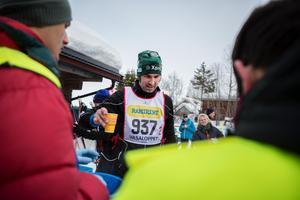 Erik Pettersson åkte i lag fem för Lantmännen.