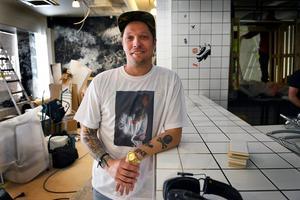 Simon Wanler är vd och en av grundarna till hamburgerkedjan.