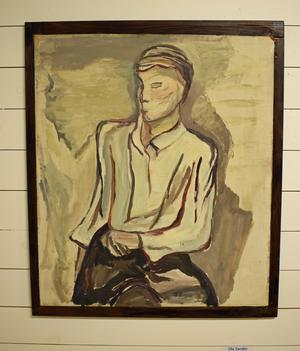 Ola Sandin, Dala-Husby, målade detta fascinerande porträtt.