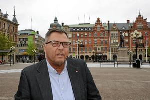 Anders Hedenius hoppas att engagemanget kring torget ska finnas kvar bland Sundsvallsborna.
