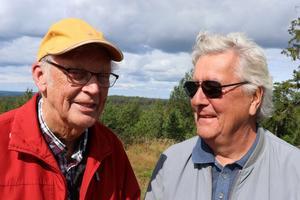 Veteranklubbens grundare: tidigare ägaren och vd:n Per-Mårten Eriksson och Per-Olof Nordin som efterträdde Eriksson som vd 1995.