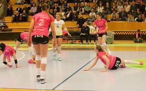 Det blev förlust i tre raka matcher i finalserien för Örebro Volley.