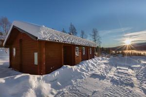 Detta fritidshus på Prinsbacken i Sälens by är etta på Klicktoppen för vecka 2, alltså det hus i Dalarna som klickades allra mest på Hemnet under förra veckan.Foto: Julia Backjanis Hansson/Sälenmäklaren