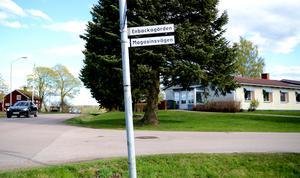 Enbackagården i Gustafs.