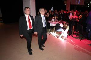 Vinnarna av Guldgalans kanske finaste utmärkelse, Sven O. Perssons hederspris. Det gick i år till Lennart och Bengt Jonsson på Trangia.