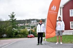Mathias Westin och Erik Johansson.