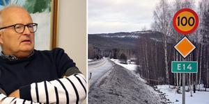 Nollvisionens positiva utveckling har planat ut – i Sverige. Därför kan en tidigareläggning till 80-väg på E14 mellan Sundsvall och Ånge vara aktuell. Samtidigt omkommer färre på sträckan i fråga, visar statistik från senaste femårsperioden. Fotot är ett montage.