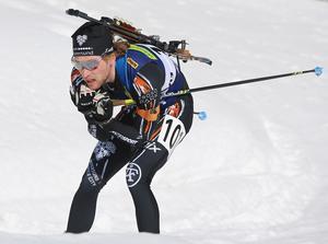 Torstein Stenersen på väg mot sitt tredje raka SM-guld.
