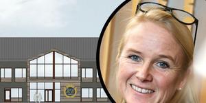 Maria Engholm ser fram emot ett nytt regionkontor.