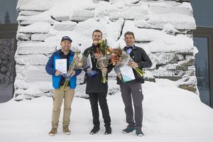 Petter Eklund, Daniel Hansson och Lars Ocklind vann.
