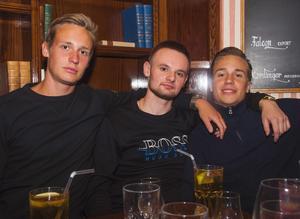 Pitchers. Jonathan, Alex och Rasmus.