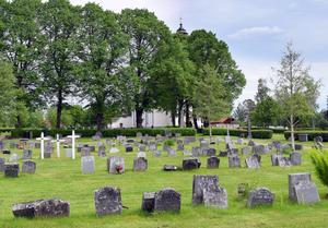 Gagnefs kyrkogård.