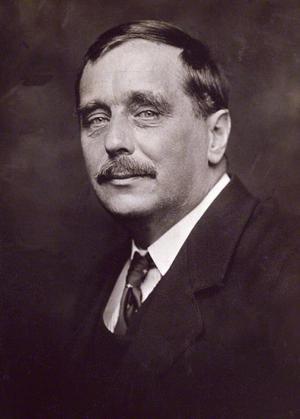 H G Wells 1920. Foto: George Charles Beresford