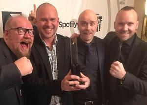 Expanders vann en grammis 2018 som Sveriges bästa dansband. På skärtorsdagen kommer bandet till Säterdalen.(Pressbild)