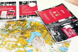 Med hjälp av kartan eller den officiella appen tar sig deltagaren runt för att registrera olika checkpoints.