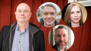Mats Gärd, Sven Nilsson, Hanna Wagenius och Tom Silverklo.