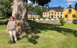 – Vi har små barnbarn som är kul att vara med. Jag är helt färdig och klar med Skebo, säger Annika Björklund som drivit verksamhet herrgården i 14 år.