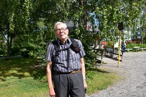 Hans R. Fankhauser från Domsjö i Örnsköldsvik besökte evenemanget.
