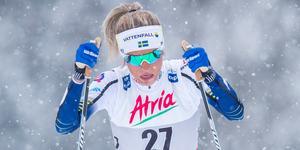 Frida Karlsson kommer inte till start i helgens världscup.
