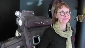 Annica Nordin vid Bio Regina.