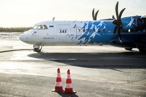 9 april 2018 invigde SAS linjen mellan Örnsköldsvik och Arlanda efter cirka ett decenniums paus. Under onsdagen gick bolaget ut med beskedet att sista flygningen sker 1 februari 2020.