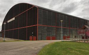 Arenan idag på Hedslund - blir här en ny multiarena? Det beslutas på torsdagskvällen.